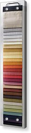 A Fabric Swatch Acrylic Print by Larry Washburn
