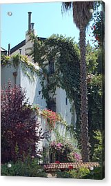 A Home In Rehavia 1 Acrylic Print by Susan Heller