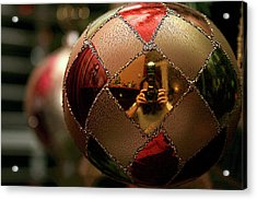 Acrylic Print featuring the photograph A Photographer's Christmas Greeting by Trish Mistric