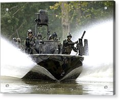 A Special Operations Craft Riverine Acrylic Print