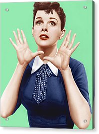 A Star Is Born, Judy Garland, 1954 Acrylic Print by Everett