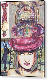 A True Color Acrylic Print by Joseph Lawrence Vasile