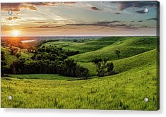 A View From A Favorite Spot 30x18 Acrylic Print