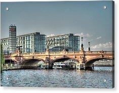 A View Under The Bridge Acrylic Print