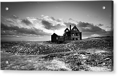 Abandoned Farm On The Snaefellsnes Peninsula Acrylic Print