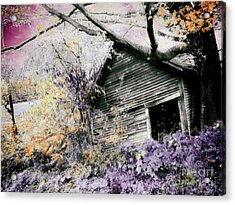 Abandoned Acrylic Print by Mindy Sommers