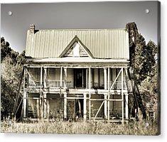 Abandoned Plantation House #1 Acrylic Print by Andrew Crispi