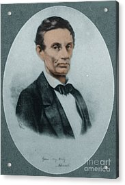 Abraham Lincoln, 16th American President Acrylic Print by Science Source