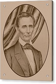 Abraham Lincoln Circa 1860  Acrylic Print