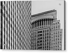 Abstract Architecture - New York Acrylic Print
