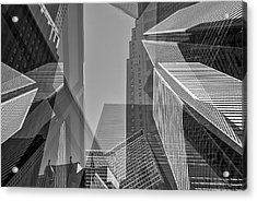 Abstract Architecture - Toronto Financial District Acrylic Print