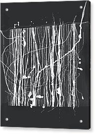 Abstract Composition 133 Acrylic Print by Angel Estevez