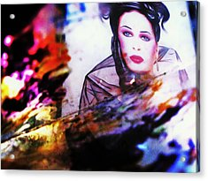 Abstract Acrylic Print by HollyWood Creation By linda zanini