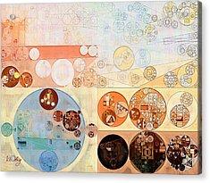 Abstract Painting - Bone Acrylic Print by Vitaliy Gladkiy