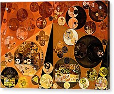 Abstract Painting - Casablanca Acrylic Print