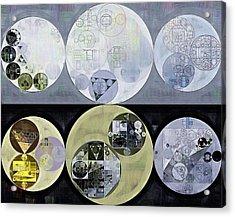 Abstract Painting - Iron Acrylic Print by Vitaliy Gladkiy
