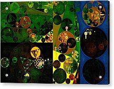 Abstract Painting - Sunflower Acrylic Print by Vitaliy Gladkiy
