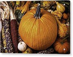 Abundance Of Autumn Acrylic Print