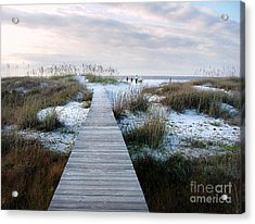 Across The Dunes Acrylic Print by Julie Dant