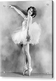 Actress Sally Starr Acrylic Print by Underwood Archives