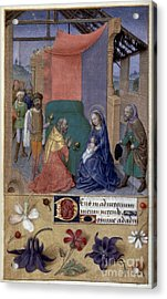 Adoration Of Magi Acrylic Print by Granger