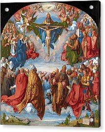 Adoration Of The Trinity  Acrylic Print