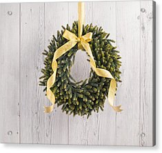 Acrylic Print featuring the photograph Advents Wreath by Ulrich Schade