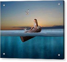 Flotation Acrylic Print