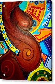 Aesthetic Ascension Series Acrylic Print by Malik Seneferu