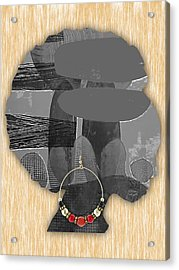 African American Acrylic Print by Marvin Blaine