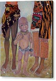 Afrik Boy Acrylic Print