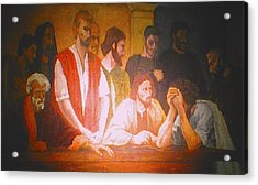 After The Last Supper Acrylic Print by G Cuffia