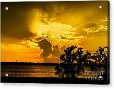 Acrylic Print featuring the photograph After The Storm by Betty LaRue