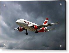 Air Canada Rouge Airbus A319-114 Acrylic Print