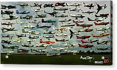 Airventure Cup Air Race, 2017 - Panorama Acrylic Print