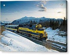 Alaska 3010 Acrylic Print by Ed Boudreau