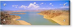 Albiquiu Reservoir, Route 84, New Mexico Acrylic Print by Panoramic Images