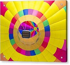 Albuquerque Balloon Fiesta Acrylic Print by Kobby Dagan