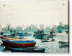 Alexandrian Harbour Acrylic Print by Cassandra Buckley
