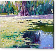 Algae Acrylic Print by Kevin Lawrence Leveque