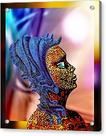 Alien Portrait Acrylic Print