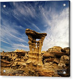 Acrylic Print featuring the photograph Alien Throne New Mexico by Bob Christopher