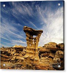 Alien Throne New Mexico Acrylic Print by Bob Christopher