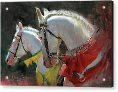 All The King's Horses Acrylic Print
