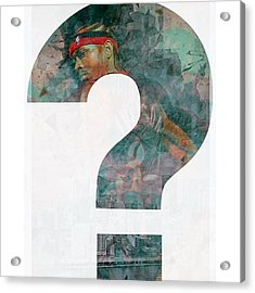 Allen Iverson The Answer Ai Acrylic Print