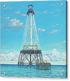 Alligator Reef Lighthouse Acrylic Print