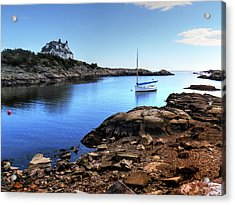 Acrylic Print featuring the photograph Almost Paradise Newport Ri by Tom Prendergast