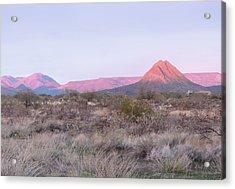Almost Sundown Acrylic Print by Gordon Beck