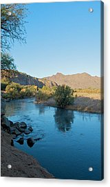 Along The Verde River 14 Acrylic Print by Susan Heller