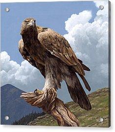Alpine Hunter Acrylic Print